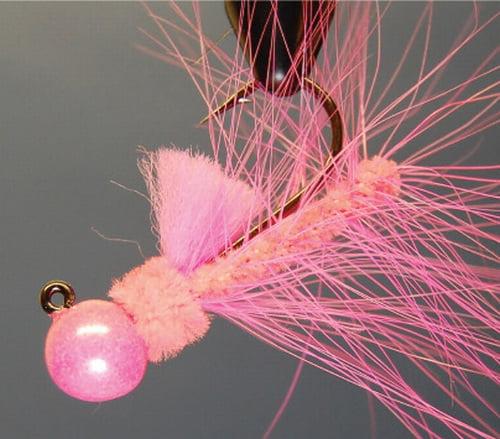 Image of Aerojig Hackle #25 - Peach; Pink Jig