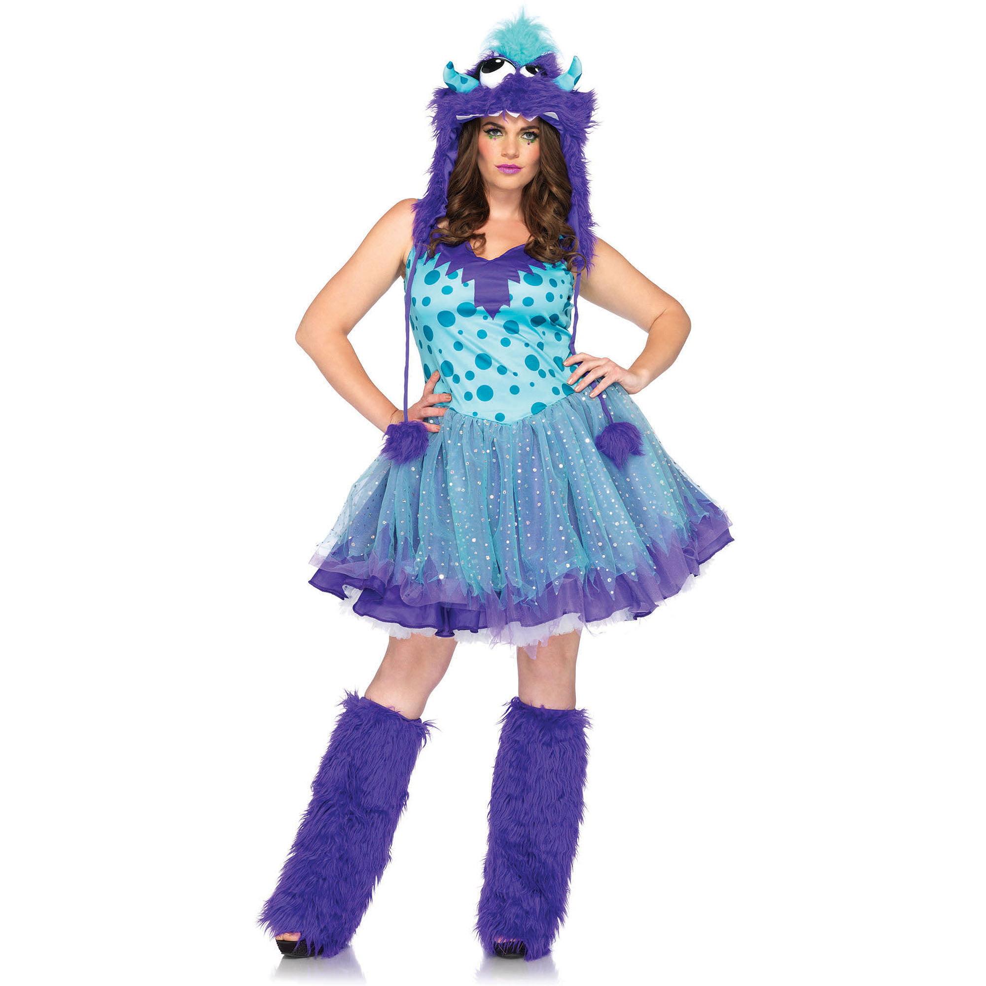 Plus Size Polka Dotty Adult Halloween Costume