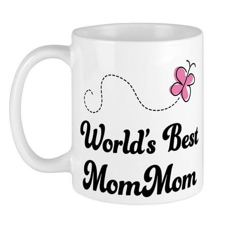 CafePress - Worlds Best Mommom Mug - Unique Coffee Mug, Coffee Cup