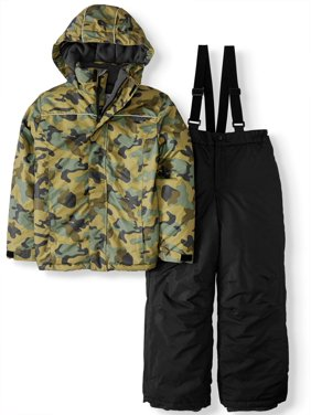 Crater Insulated Jacket and Snow Pants, 2-Piece Snowsuit Set (Big Boys)