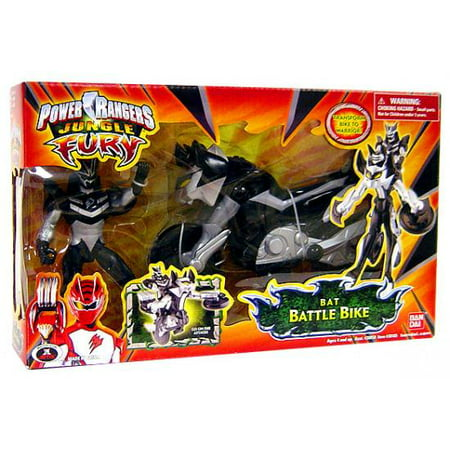 Power Rangers Jungle Fury Bat Battle - Jungle Fury Blue Ranger