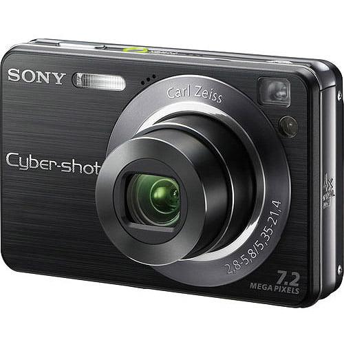 Sony Dscw120 Black Digital Camera