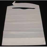 Disposable Children's Bibs with Crumb Catcher - Case of 500