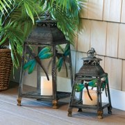 Cape Craftsman Dragon Fly Outdoor Lantern - Set of 2