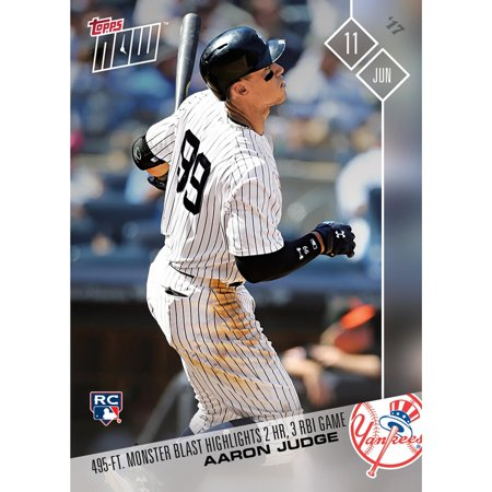 MLB NY Yankees Aaron Judge #238 (RC) 2017 Topps NOW Trading Card - image 1 de 1