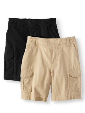 0d871e3051c Product Image Essential Denim and Cargo Shorts, 2-Piece Multi-Pack Set  (Little Boys
