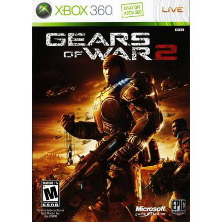 Refurbished Gears Of War 2 For Xbox 360 (Gears Of War 2 Split Screen Gameplay)