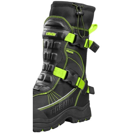 92913a514d7 Castle X Barrier 2 Mens Snowmobile Boots Hi-Vis