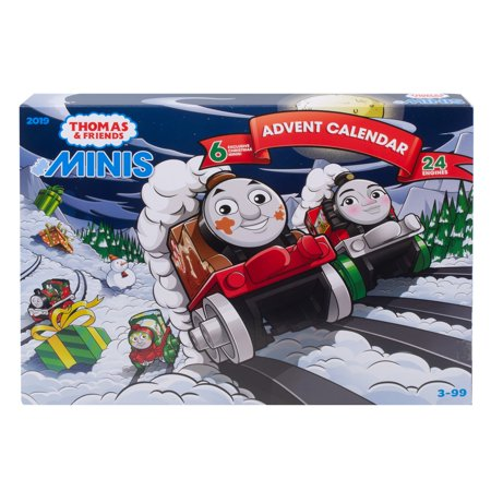 Thomas & Friends Minis 2019 Advent Calendar With 6 Exclusives by Thomas & Friends