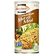 Manischewitz Whole Grain Matzo Meal Non GMO KFP 16 Oz. Pack Of (Non Gmo Corn)