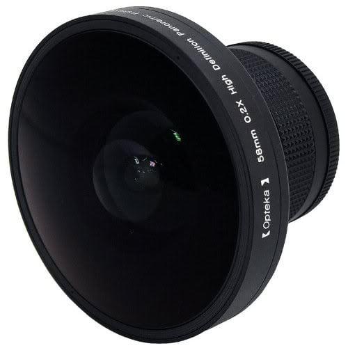 """Opteka Platinum Series 0.2X HD Panoramic """"Vortex"""" 220Deg ..."""