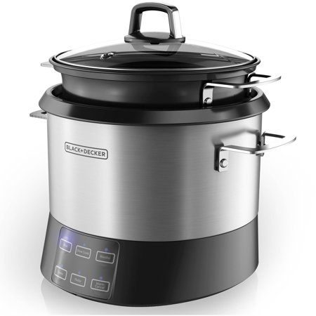 BLACK+DECKER All-In-One Digital Multi-Cooker, Rice Cooker