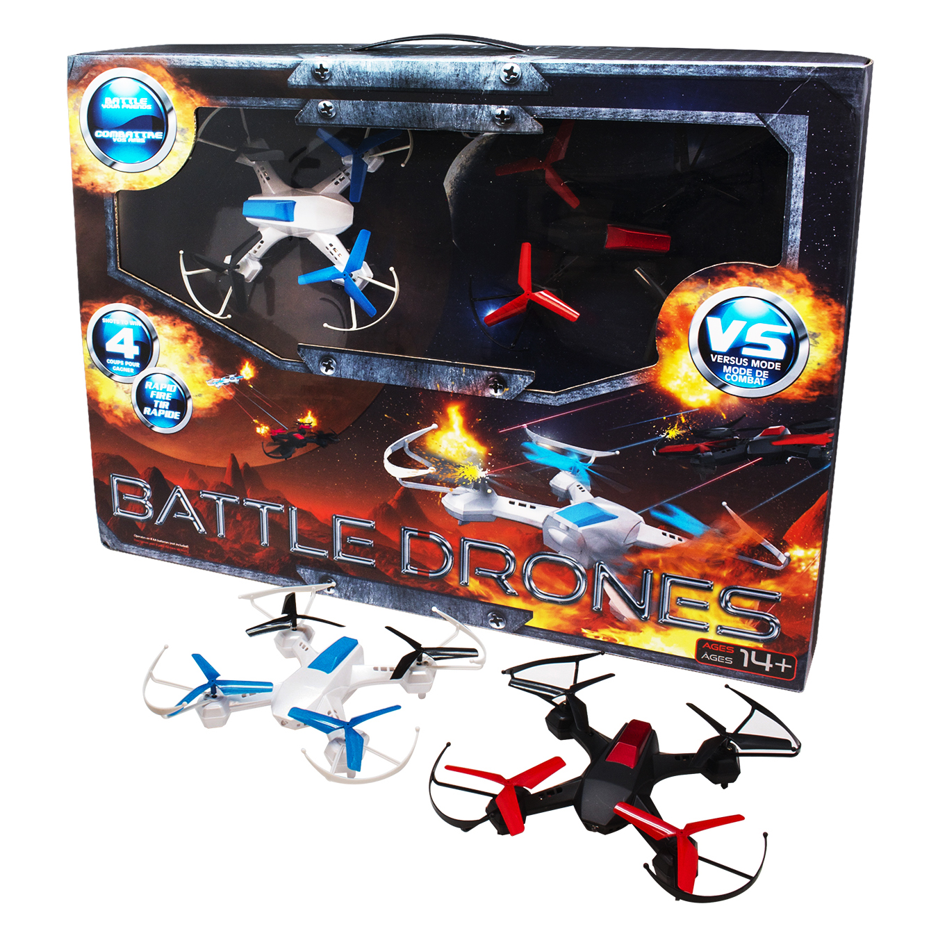 Quadrone Battle Drones 2 Pack by DGL Group