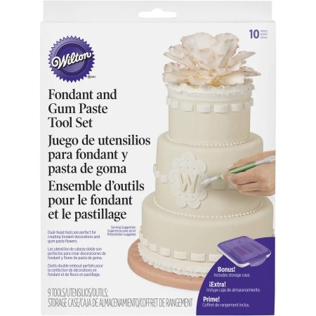 Fondant & Gum Paste Tool Set-9pcs