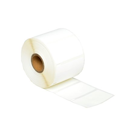 GREENCYCLE 1 Roll (1500 Labels/Roll) White Jewelry Price Tag 2-up Labels Barbell Style Labels Compatible for Dymo 30299 3/8
