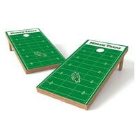 Wild Sales NCAA Football Field XL Shield Cornhole Set