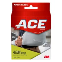 ACE Brand Arm Sling, Adjustable, Gray, 1/Pack