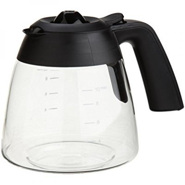 Capresso 10-Cup Glass Carafe with Lid for MG600 and CM200 Coffee Maker