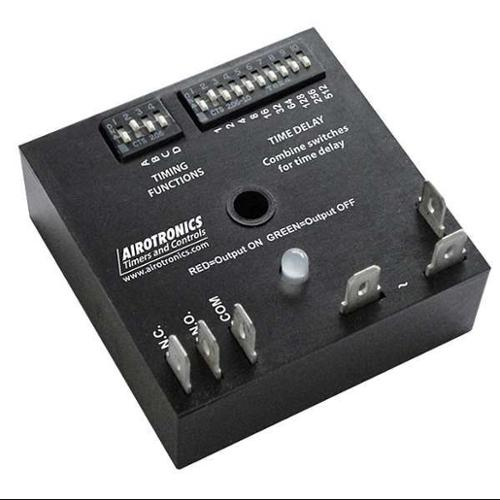 AIROTRONICS MC3003631H Encapsulated Timer Relay, 1023 min, 6 Pin