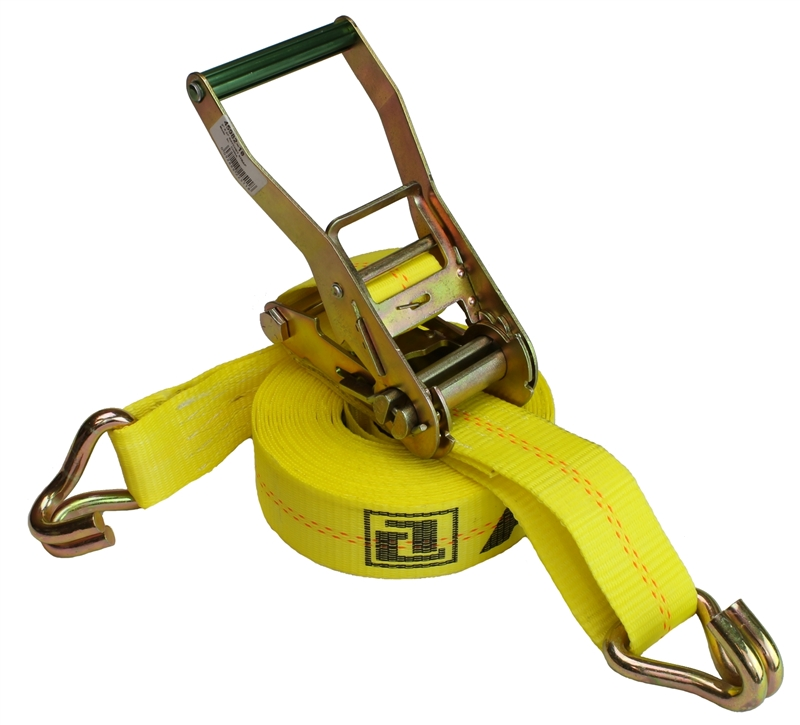 """2"""" x 30' ANCRA Ratchet Strap with Wire Hooks"""