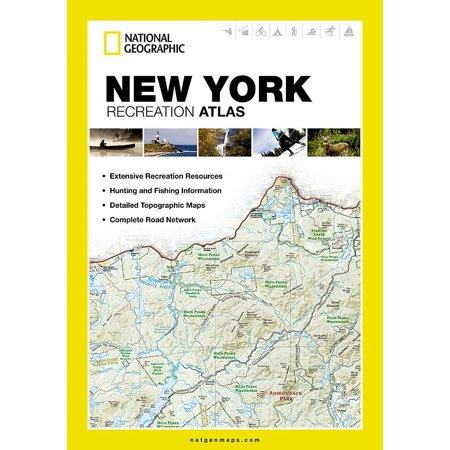 State Recreation Atlas: New York Recreation Atlas (Paperback)