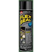 Flex Seal Liquid Aerosol Rubber Sealant Coating Automotive, 14 oz, Black