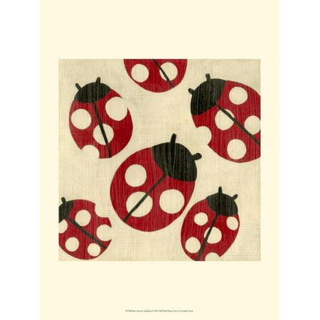 Best Friends - Ladybugs Print Wall Art By Chariklia (Terry Redlin Best Friends Print)