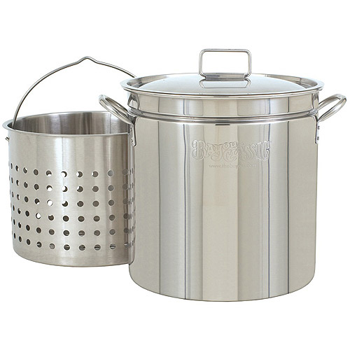 Barbour International Bayou Classic 24-Quart Stainless Steel Stockpot
