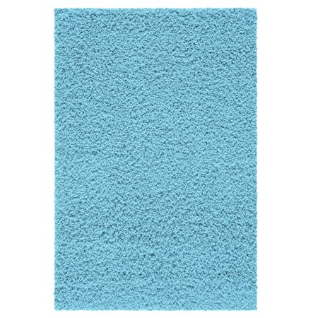 Your Zone Solid Textured Polyester Rug Collection Multiple Sizes And Colors