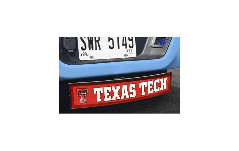 Texas Tech Light Up Hitch Cover