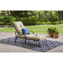 Mainstays Forest Hills Chaise Lounge