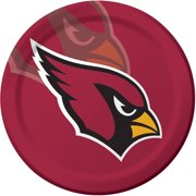 Arizona Cardinals Plates, 8-Pack
