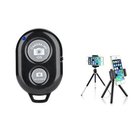 Insten 360 Degree Ball Head Mini Phone Tripod Stand Holder (+Bluetooth  Remote Shutter) for Smartphone Selfie Universal