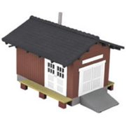 O Country Freight Station MTH3090004 Multi-Colored