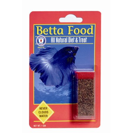 Sfbb betta food 71401 freeze dried natural fish bloodworms for Betta fish food walmart