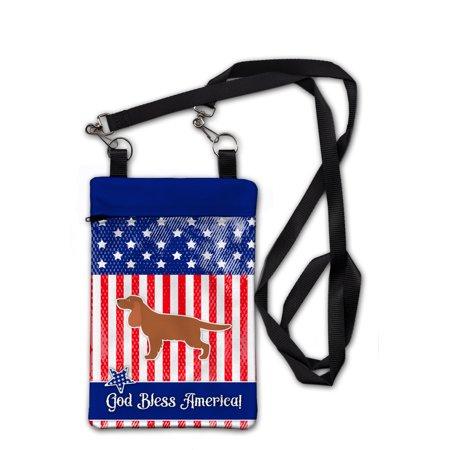 USA Patriotic English Cocker Spaniel Crossbody Bag Purse BB3312OBDY