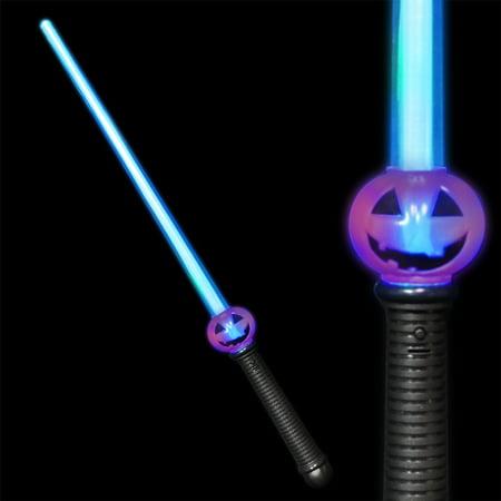 FlashingBlinkyLights Pumpkin Jack O Lantern LED Sword - Easy Jack O Lantern Ideas