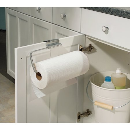 interdesign axis over the cabinet paper towel holder various quantities. Black Bedroom Furniture Sets. Home Design Ideas