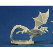 Bones: Dragon Hatchling Black Bones Miniature Reaper Miniatures
