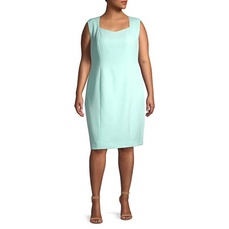 Plus Cap-Sleeve Sheath Dress](Lord And Taylor Dresses Clearance)
