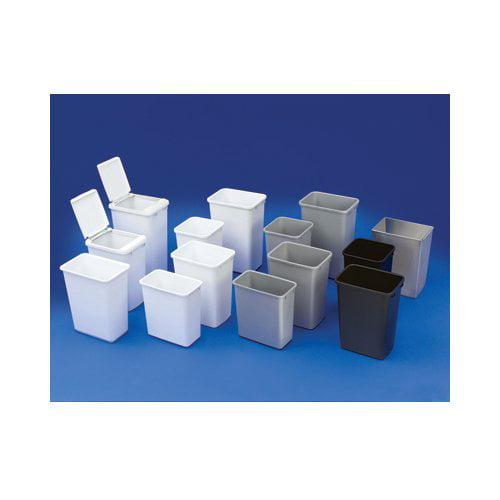 Rev-A-Shelf RV-35-8 Replacement Waste Bin 35-Quart White