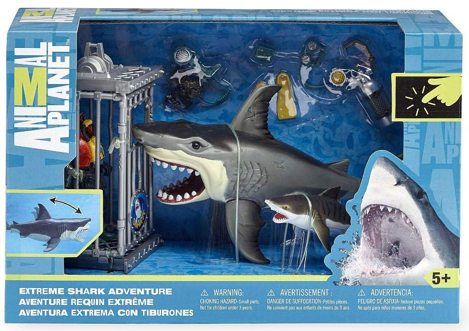 Animal Planet Extreme Shark Adventure Playset by