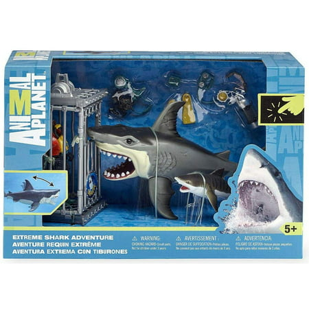 - Animal Planet Extreme Shark Adventure Playset