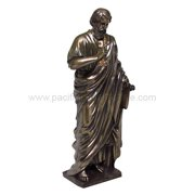 11 Inch Apostle Saint Peter Religious Evangelist Statue Figurine