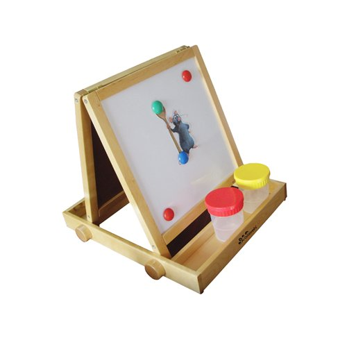 Child Supply 2 Station Easel Arts Crafts A+Childsupply A