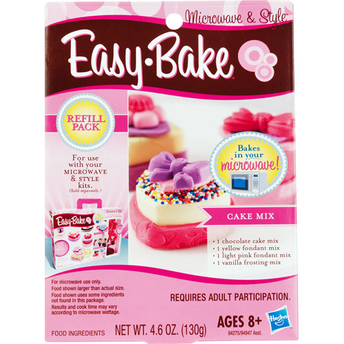 Hasbro 51323 Easy-Bake Refill Pack Cake Mix