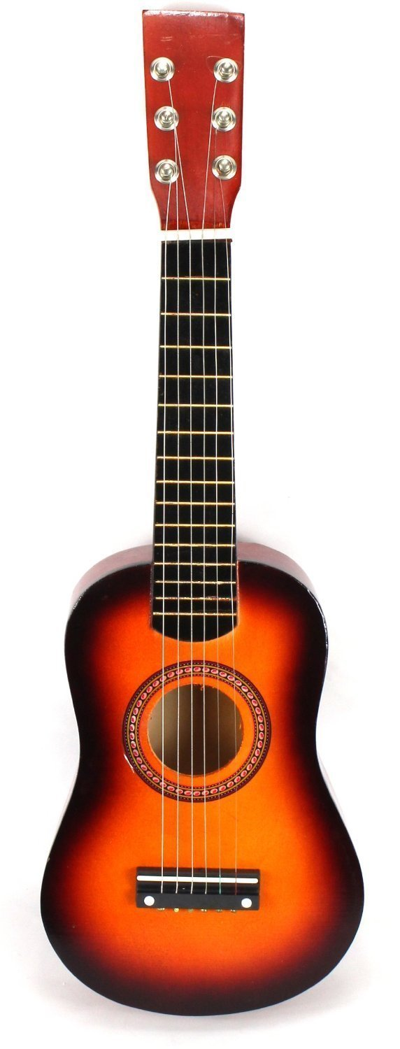 Acoustic Classic Rock 'N' Roll 6 Stringed Toy Guitar Musical Instrument w  Guitar Pick,... by Velocity Toys