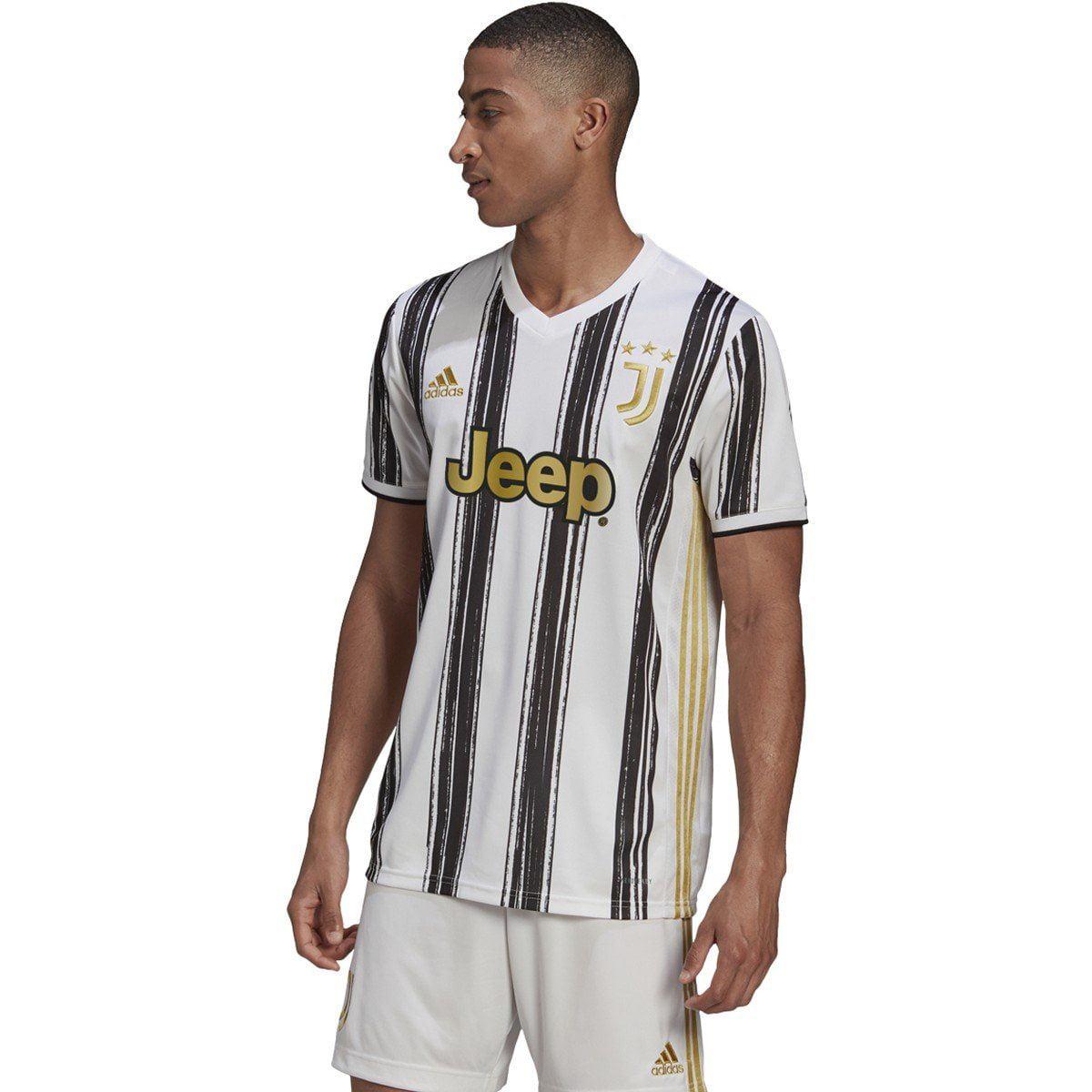 adidas Men's Soccer Juventus 20/21 Home Jersey | EI9894 - Walmart.com
