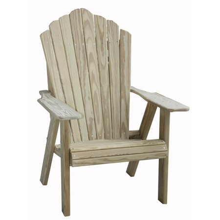 Fan Back Adirondack Chair In Pine