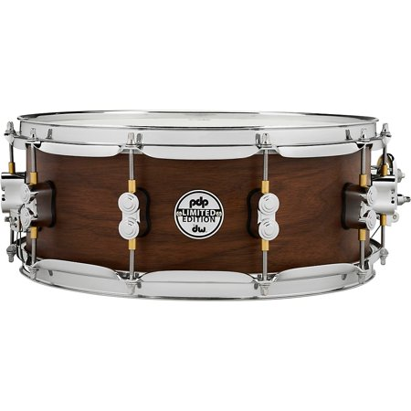 """PDP Limited Edition Maple / Walnut Shell 5.5""""x14"""" Snare Drum - Natural Satin Finish"""